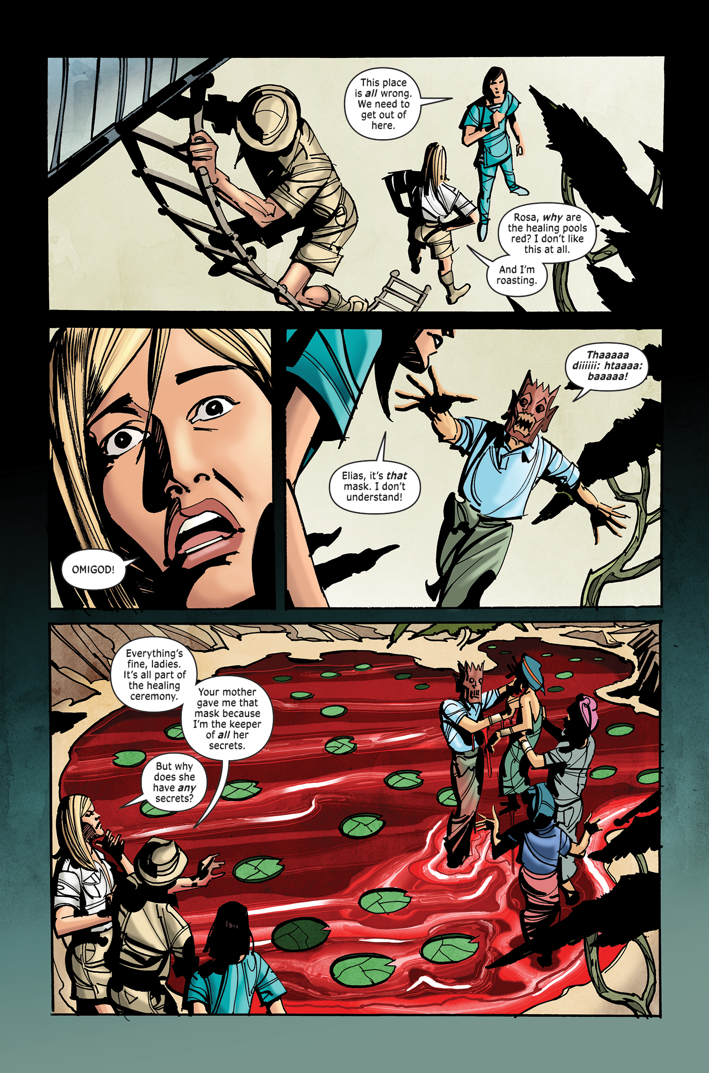 Surgeon X, Chapter 6, page 2
