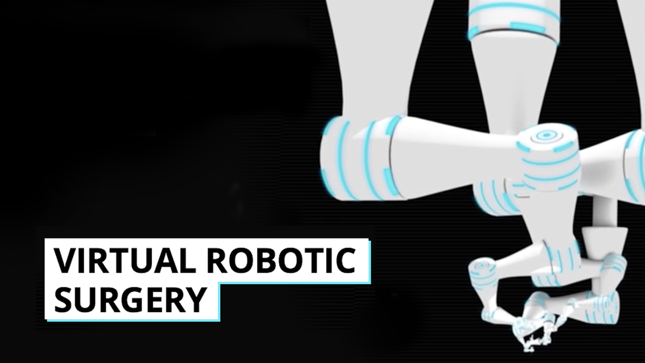 Virtual robotic surgery